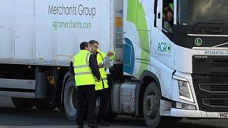 کنترل گمرکی واردات اروپا به بریتانیا