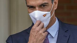 Spanish Prime Minister Pedro Sanchez pictured at the Moncloa palace in Madrid.