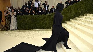 Kim Kardashian at the Met Gala New York