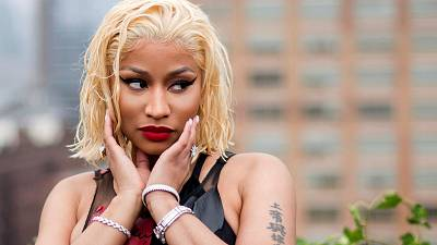 """Minaj also tweeted in support of the COVID vaccine, saying she would """"def recommend"""" getting it"""