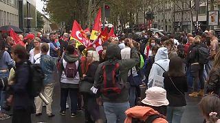 Die linke Gewerkschaft CGT hat zur Demo aufgerufen