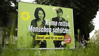 Προεκλογική αφίσα των Πράσινων στη Γερμανία
