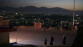 Bewohnerinnen und Bewohner von Kabul in Afghanistan