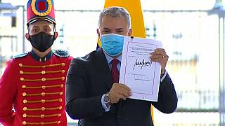Iván Duque presenta la nueva Ley de Inversión Social