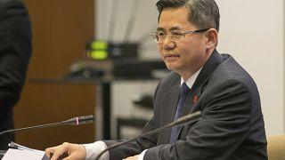 سفير الصين، تشنغ تسيغوانغ، لدى المملكة المتحدة