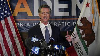 Fracasa el referéndum revocatorio contra el gobernador demócrata de California