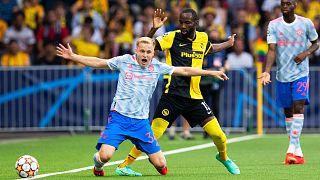 Les Africains de Berne font tomber Manchester United