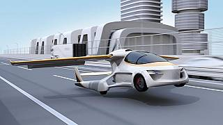 Prototype de véhicule volant