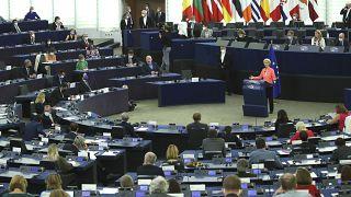 President von der Leyen delivered her annual speech before the European Parliament in Strasbourg.