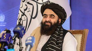 The foreign minister in Afghanistan's new Taliban-run Cabinet, Amir Khan Muttaqi