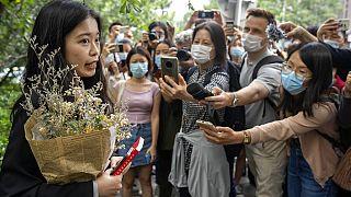 Çin'deki #MeToo hareketinin yüzü Zhou Xiaoxuan