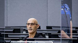 Salih Mustafa no Tribunal Especial para o Kosovo, em Haia