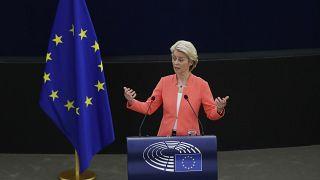 رئيسة المفوضية الأوروبية أورسولا فون دير لايين