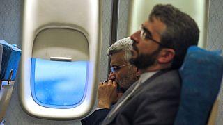 علی باقری کنی در کنار سعید جلیلی