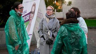 Предвыборная кампания Алены Поповой.