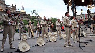 شاهد: احتفالية العيد الوطني للفرسان بالمكسيك