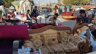 Kabil'deki ikinci el pazarı