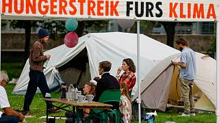 Camp der Hungerstreikenden