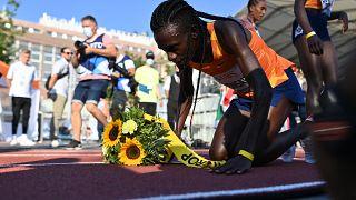 Burundian sprinter Niyonsaba sets new world record in 2,000m race