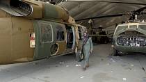 At Kabul airport, remnants of US war bear testimony to chaotic exit