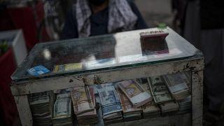 صرافی خیابانی در کابل