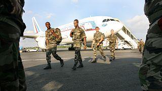 صورة أرشيفية لقوات تابعة للأمم المتحدة في الغابون