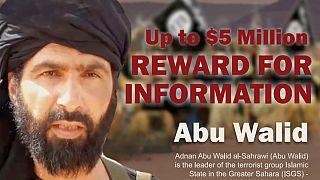 """Cartaz do programa """"Recompensas pela Justiça"""" com Abu Walid"""