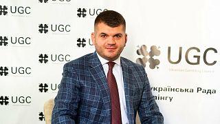 Anton Kuchukidze, the chairman of the Ukrainian Gambling Council