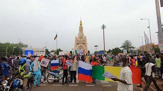 Mali : manifestation en soutien à un potentiel accord avec la Russie