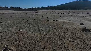 Sequía extrema en Oregón, Estados Unidos