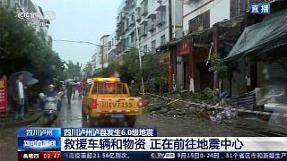 أدى الزلزال إلى مقتل شخصين وانهيار 22 منزلاً