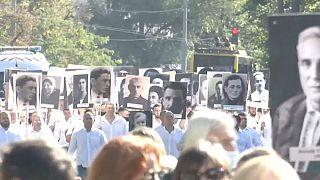 Траурное шествие, приуроченное к 80-й годовщине трагедии в Бабьем Яру
