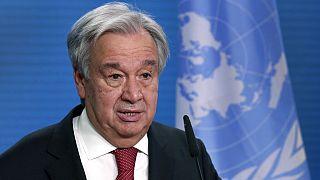 Ο ΓΓ του ΟΗΕ, Αντόνιο Γκουτέρες