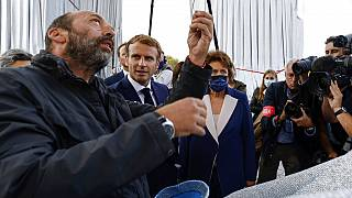Vladimir Yavachev, neveu de Christo, Emmanuel Macron et Roselyne Bachelot