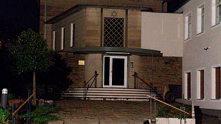 الكنيس اليهودي موقع الهجوم المحتمل