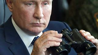 Vladimir Putin assistiu esta semana a um exercício militar conjunto das tropar russas e bielorrussas