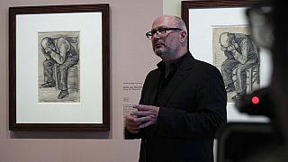 """Un """"nouveau"""" dessin de Van Gogh dévoilé au public à Amsterdam"""