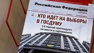 Campaña previa a las Elecciones Parlamentarias en Rusia