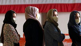 گروهی از زنان که افغانستان را ترک کردهاند