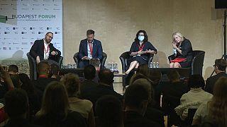 Gäste auf dem Budapest Forum