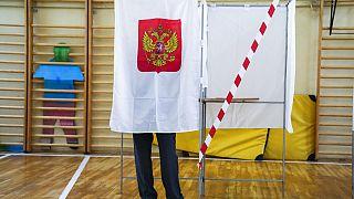 Bureau de vote de Moscou, 17 septembre 2021