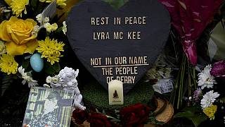 Tributes to murdered journalist Lyra McKee.