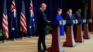 پیمان امنیتی آمریکا، بریتانیا و استرالیا