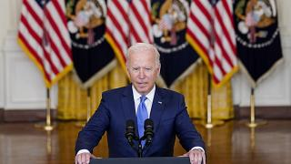 President Joe Biden delivers remarks on the economy in the East Room of the White House, Sept. 16, 2021, in Washington.