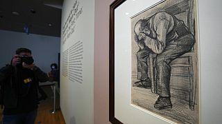 Van Gogh'un yeni keşfedilen çizimi