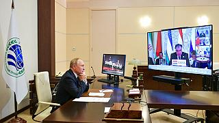Putin atiende por videoconferencia la cumbre de la Organización de Cooperación de Shanghái