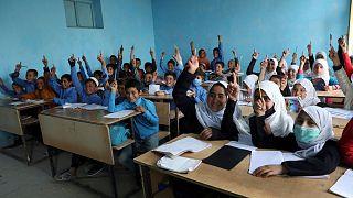 مدرسهای در کابل - ۷ فروردین (حمل) ۱۴۰۰