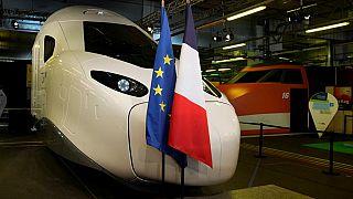 Новый поезд TGV / Франция
