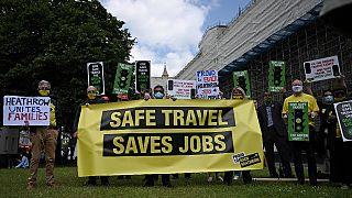 Протесты в Великобритании