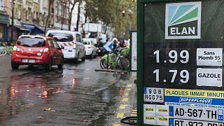 Αύξηση στις τιμές των καυσίμων στη Γαλλία